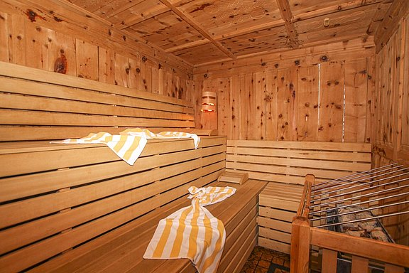 Atmosphere - Sauna Hotel Waldhof in the Zillertal valley