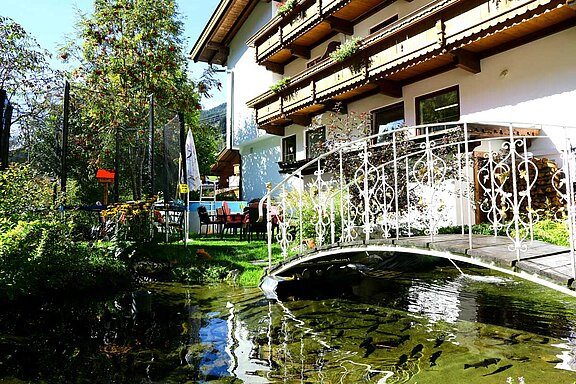 Atmosphere - Garden Hotel Waldhof in the Zillertal valley