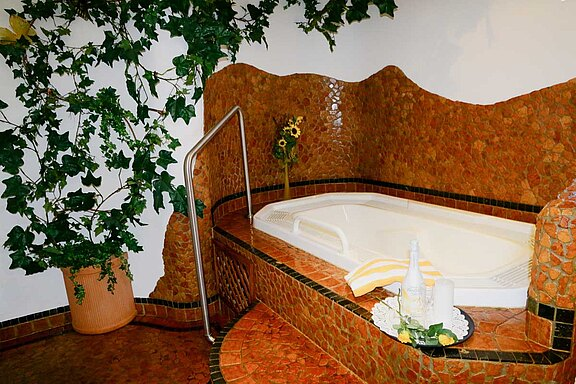 Atmosphere - Spa area Hotel Waldhof in the Zillertal valley
